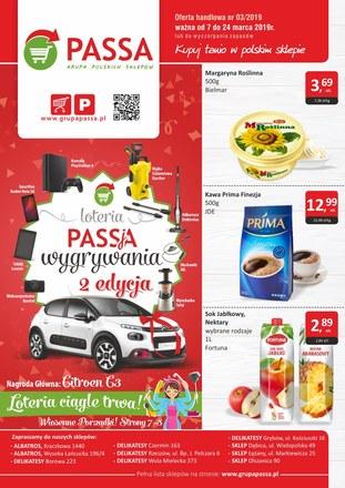 Gazetka promocyjna Passa, ważna od 07.03.2019 do 24.03.2019.