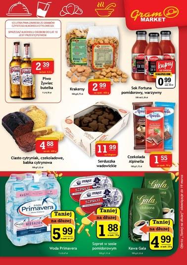 Gazetka promocyjna Gram Market, ważna od 13.03.2019 do 19.03.2019.