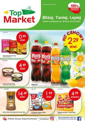 Gazetka promocyjna Top Market - Gazetka promocyjna
