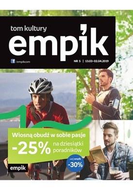 Gazetka promocyjna EMPiK - Wiosną obudź w sobie pasje