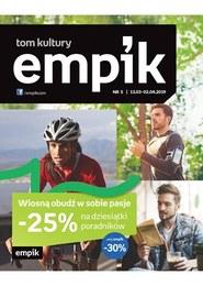 Gazetka promocyjna EMPiK - Wiosną obudź w sobie pasje - ważna do 02-04-2019