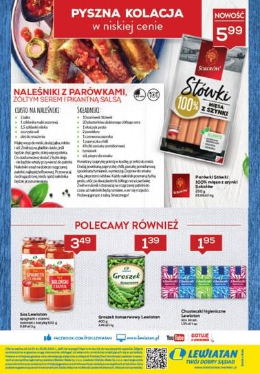 Gazetka promocyjna Lewiatan, ważna od 14.03.2019 do 20.03.2019.