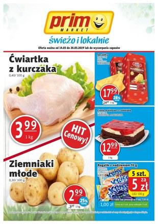 Gazetka promocyjna Prim Market, ważna od 14.03.2019 do 20.03.2019.