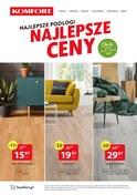 Gazetka promocyjna Komfort - Najlepsze podłogi, najlepsze ceny - ważna do 22-04-2019