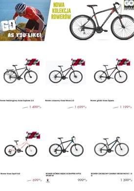Gazetka promocyjna GO Sport - Nowa kolekcja rowerów