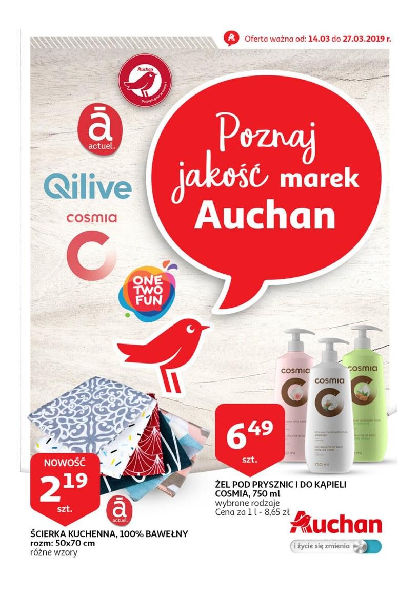 Gazetka promocyjna Auchan - ważna od 14. 03. 2019 do 27. 03. 2019