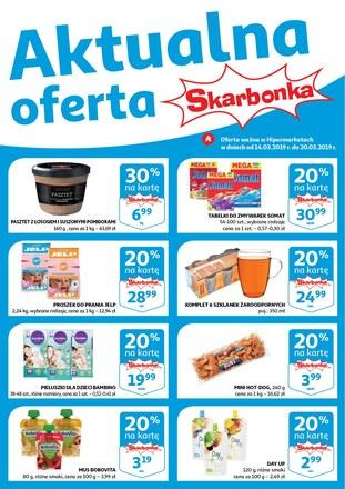 Gazetka promocyjna Auchan, ważna od 14.03.2019 do 20.03.2019.