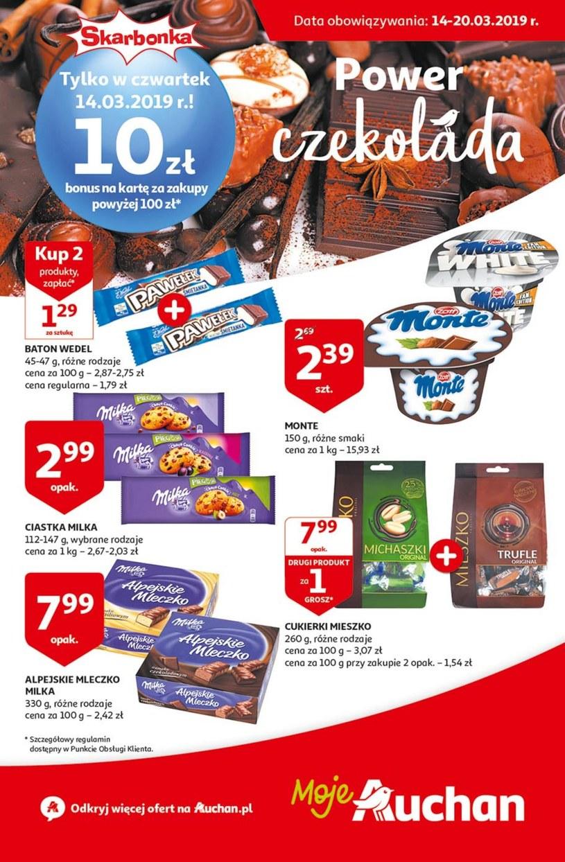 Gazetka promocyjna Auchan - ważna od 14. 03. 2019 do 20. 03. 2019