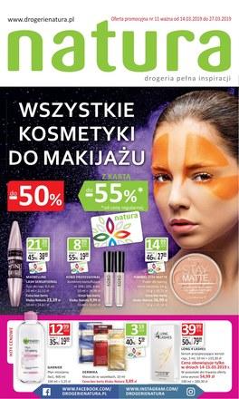 Gazetka promocyjna Drogerie Natura, ważna od 14.03.2019 do 27.03.2019.