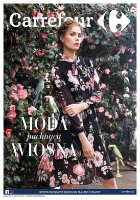 Gazetka promocyjna Carrefour - Moda pachnąca wiosną