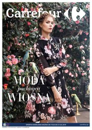 Gazetka promocyjna Carrefour - Moda pachnąca wiosną - ważna do 31-03-2019