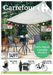 Gazetka promocyjna Carrefour - Twój piękny kawałek wiosny  - ważna do 14-04-2019