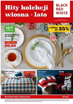 Gazetka promocyjna Black Red White, ważna od 14.03.2019 do 28.03.2019.
