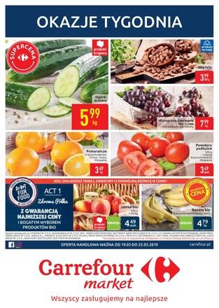 Gazetka promocyjna Carrefour Market, ważna od 19.03.2019 do 25.03.2019.