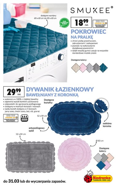 Gazetka promocyjna Biedronka, ważna od 18.03.2019 do 03.04.2019.