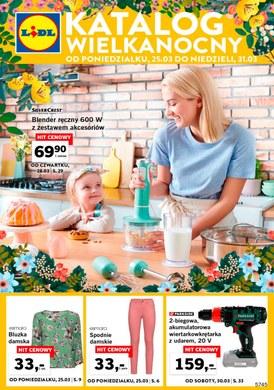 Gazetka promocyjna Lidl - Katalog Wielkanocny