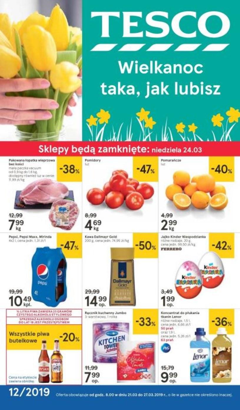Gazetka promocyjna Tesco Hipermarket - ważna od 21. 03. 2019 do 27. 03. 2019