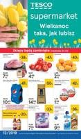 Gazetka promocyjna Tesco Supermarket - Wielkanoc taka, jak lubisz