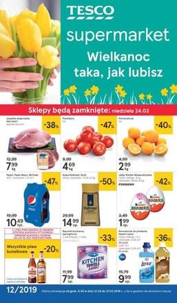 Gazetka promocyjna Tesco Supermarket, ważna od 21.03.2019 do 27.03.2019.