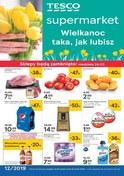Gazetka promocyjna Tesco Supermarket - Wielkanoc taka, jak lubisz  - ważna do 27-03-2019