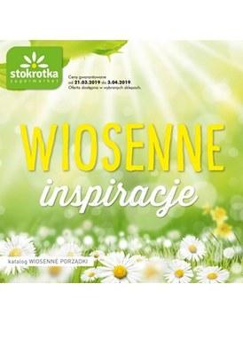 Gazetka promocyjna Stokrotka - Wiosenne inspiracje