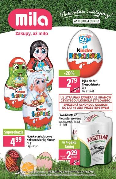 Gazetka promocyjna MILA, ważna od 20.03.2019 do 26.03.2019.