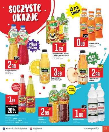 Gazetka promocyjna Twój Market, ważna od 20.03.2019 do 31.03.2019.
