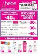 Gazetka promocyjna Hebe - Gazetka promocyjna - ważna do 30-03-2019