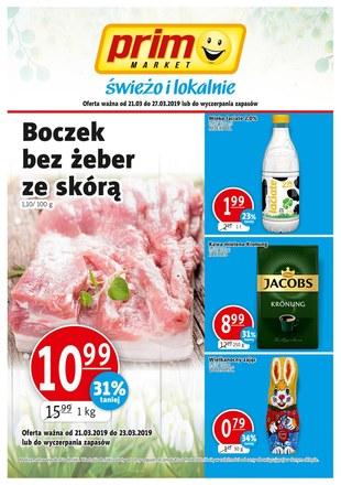 Gazetka promocyjna Prim Market, ważna od 21.03.2019 do 27.03.2019.