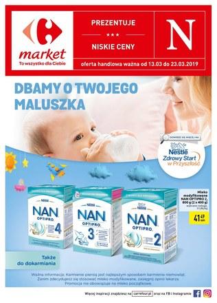 Gazetka promocyjna Carrefour Market, ważna od 13.03.2019 do 23.03.2019.