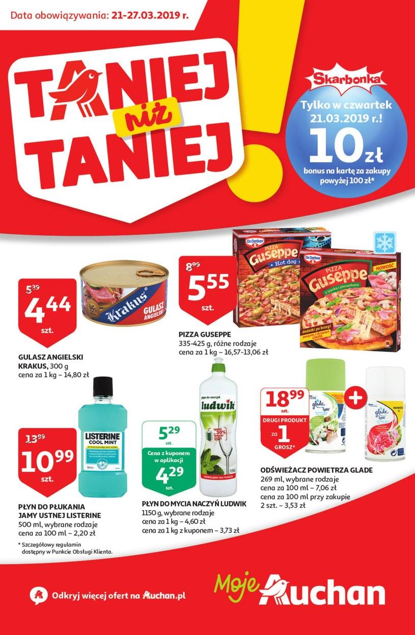 Gazetka promocyjna Auchan - ważna od 21. 03. 2019 do 27. 03. 2019