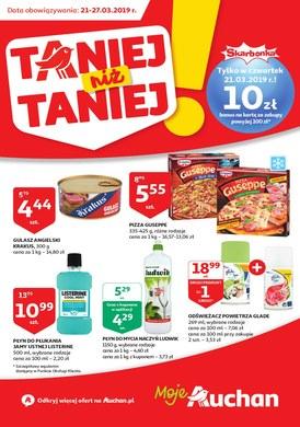 Gazetka promocyjna Auchan - Taniej niż taniej - moje Auchan