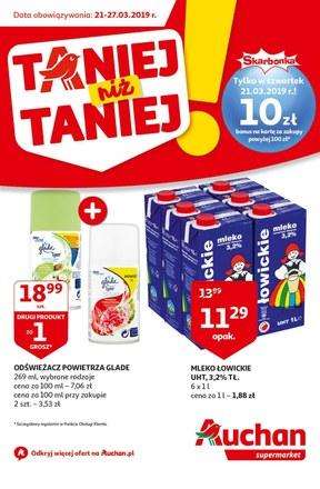 Gazetka promocyjna Auchan, ważna od 21.03.2019 do 27.03.2019.
