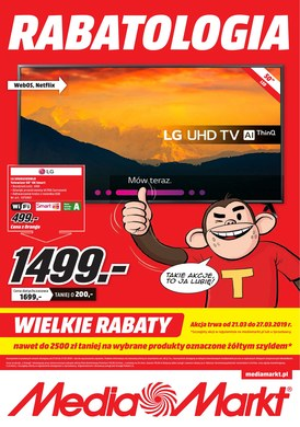 Gazetka promocyjna Media Markt - Rabatologia