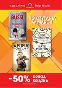 Gazetka promocyjna Księgarnie Świat Książki - Do czytania w marcu - ważna do 02-04-2019