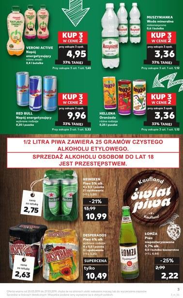 Gazetka promocyjna Kaufland, ważna od 25.03.2019 do 27.03.2019.