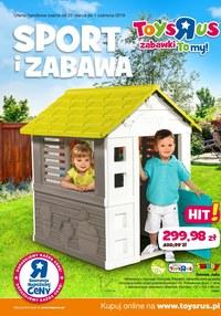 """Gazetka promocyjna Toys""""R""""Us - Sport i zabawa - ważna do 01-06-2019"""
