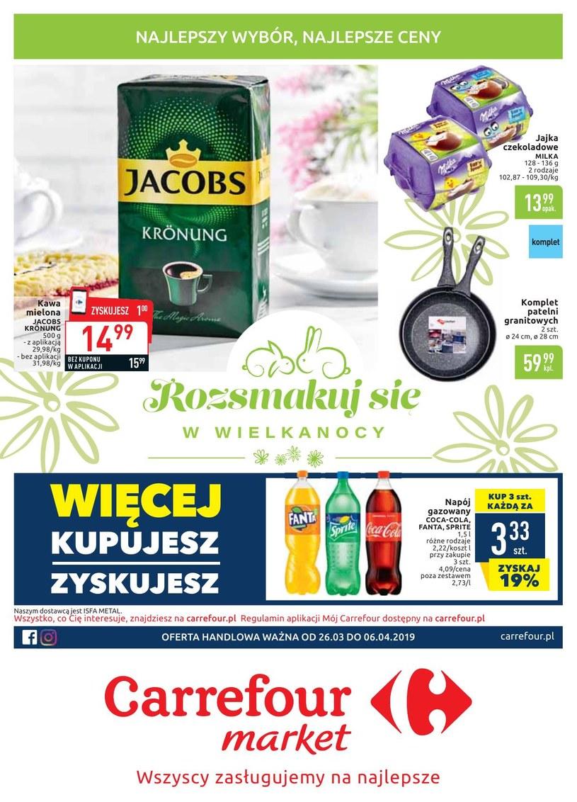 Gazetka promocyjna Carrefour Market - ważna od 26. 03. 2019 do 06. 04. 2019