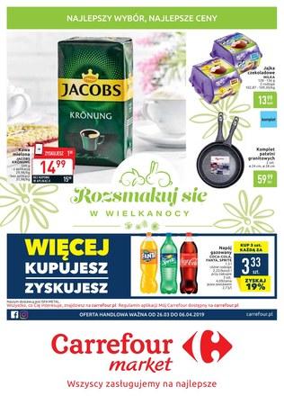 Gazetka promocyjna Carrefour Market, ważna od 26.03.2019 do 06.04.2019.