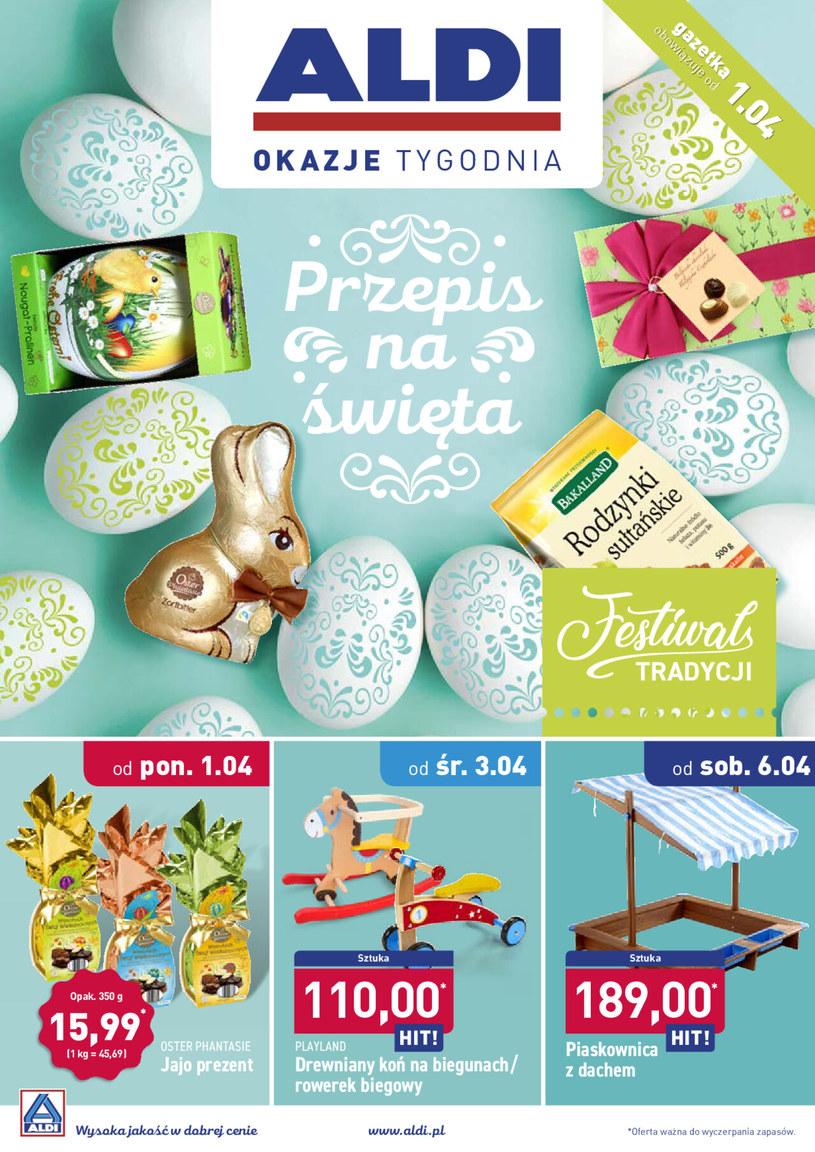 Gazetka promocyjna Aldi - ważna od 31. 03. 2019 do 06. 04. 2019