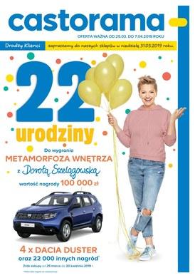 Gazetka promocyjna Castorama - 22 urodziny!