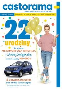 Gazetka promocyjna Castorama - 22 urodziny! - ważna do 07-04-2019