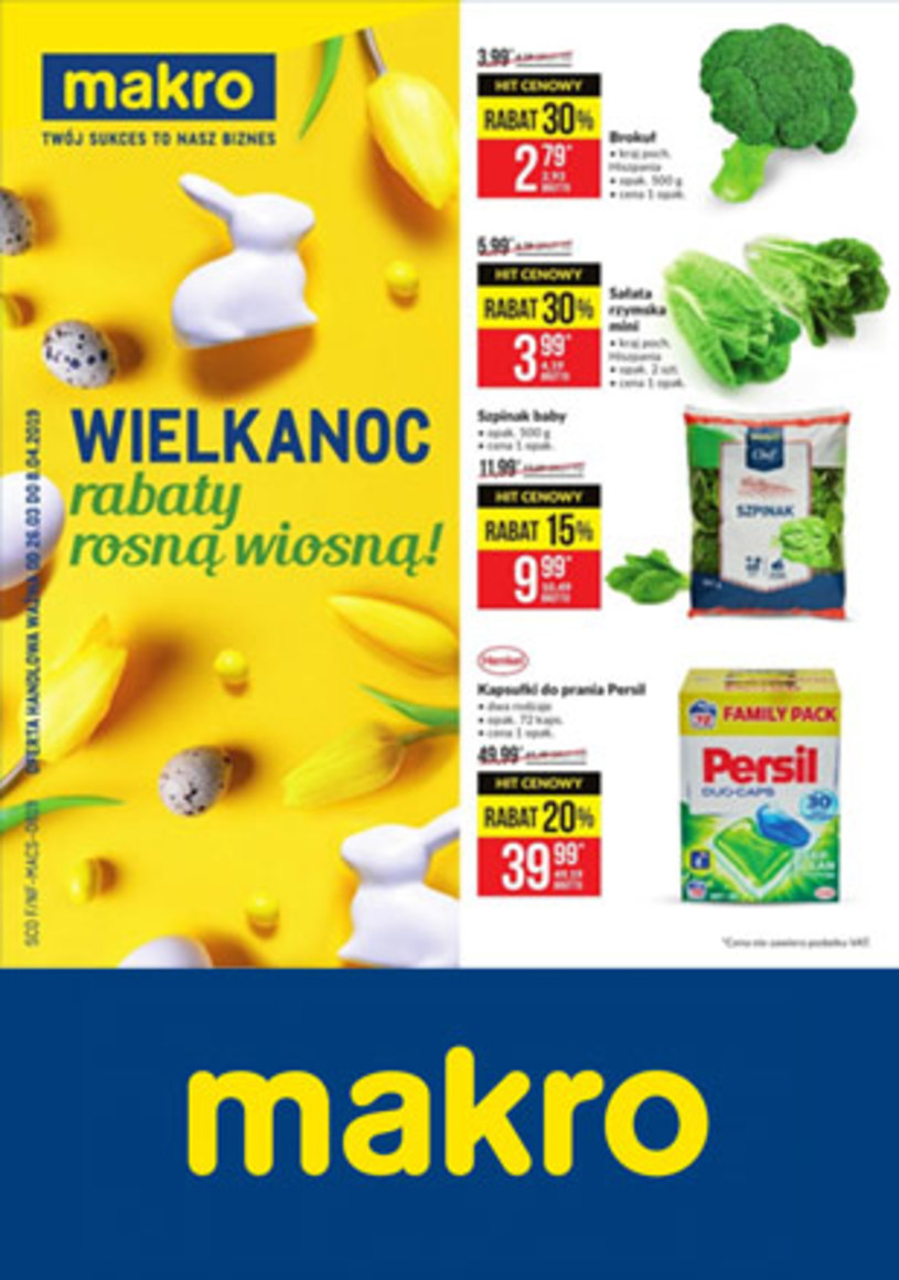 Makro Cash&Carry: 5 gazetki