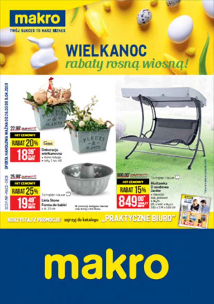 Gazetka promocyjna Makro Cash&Carry - ważna od 26. 03. 2019 do 08. 04. 2019