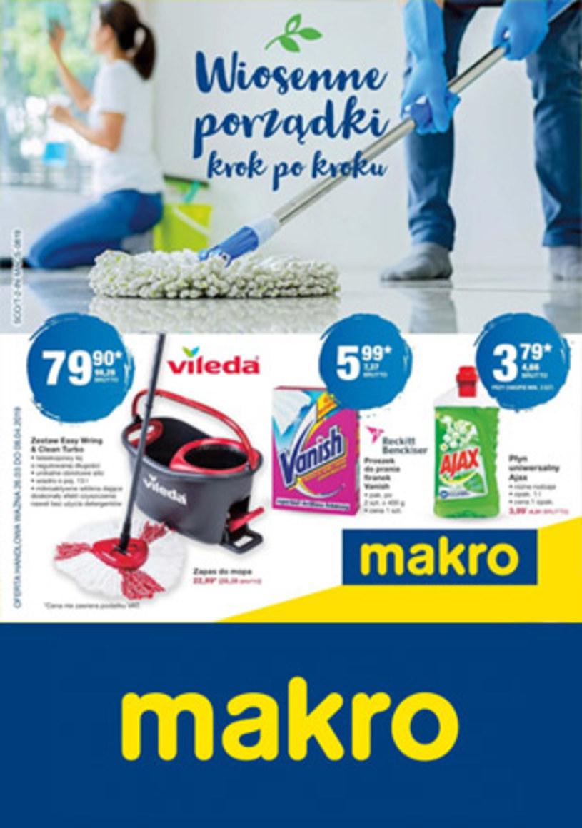 Gazetka promocyjna Makro Cash&Carry - ważna od 28. 03. 2019 do 08. 04. 2019