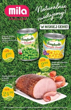 Gazetka promocyjna MILA, ważna od 26.03.2019 do 08.04.2019.