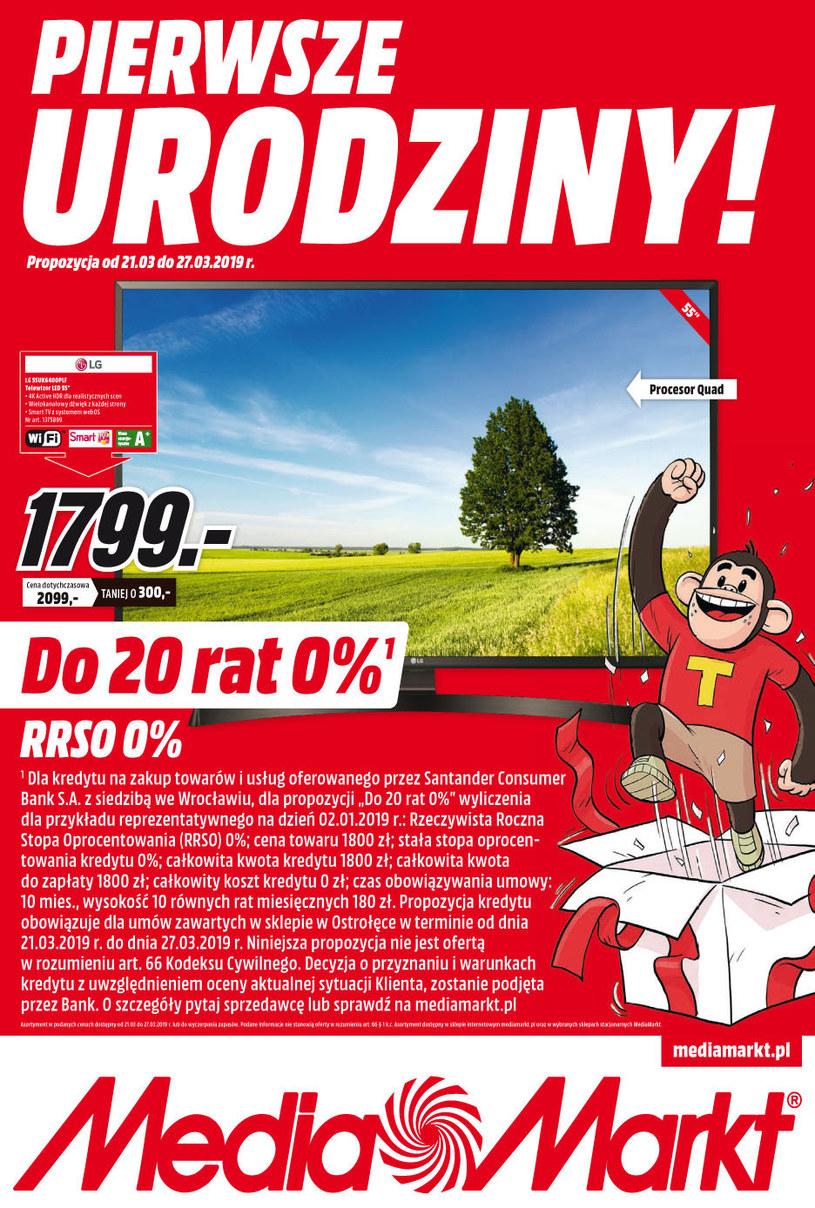 Gazetka promocyjna Media Markt - ważna od 21. 03. 2019 do 27. 03. 2019