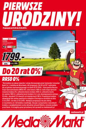 Gazetka promocyjna Media Markt, ważna od 21.03.2019 do 27.03.2019.