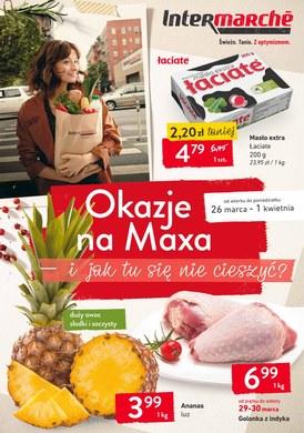 Gazetka promocyjna Intermarche Super - Okazje na Maxa