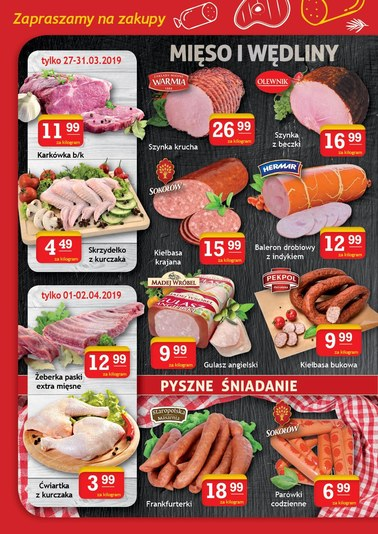 Gazetka promocyjna Gram Market, ważna od 27.03.2019 do 02.04.2019.